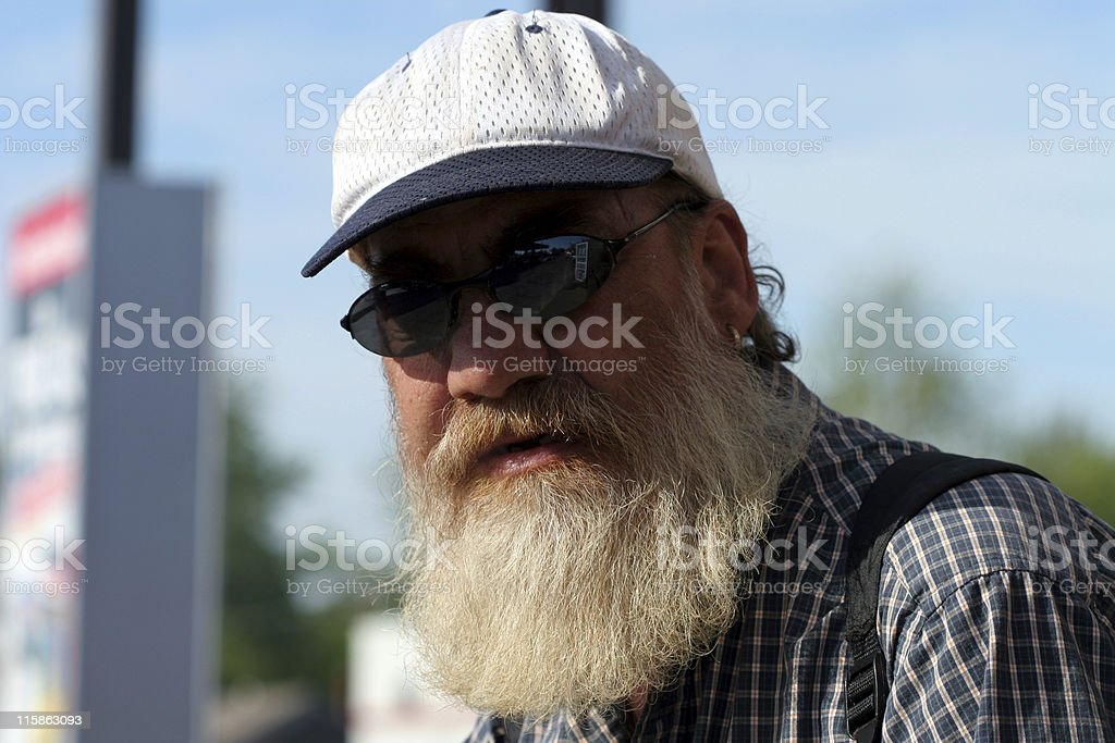 Guy on the Street royalty-free stock photo