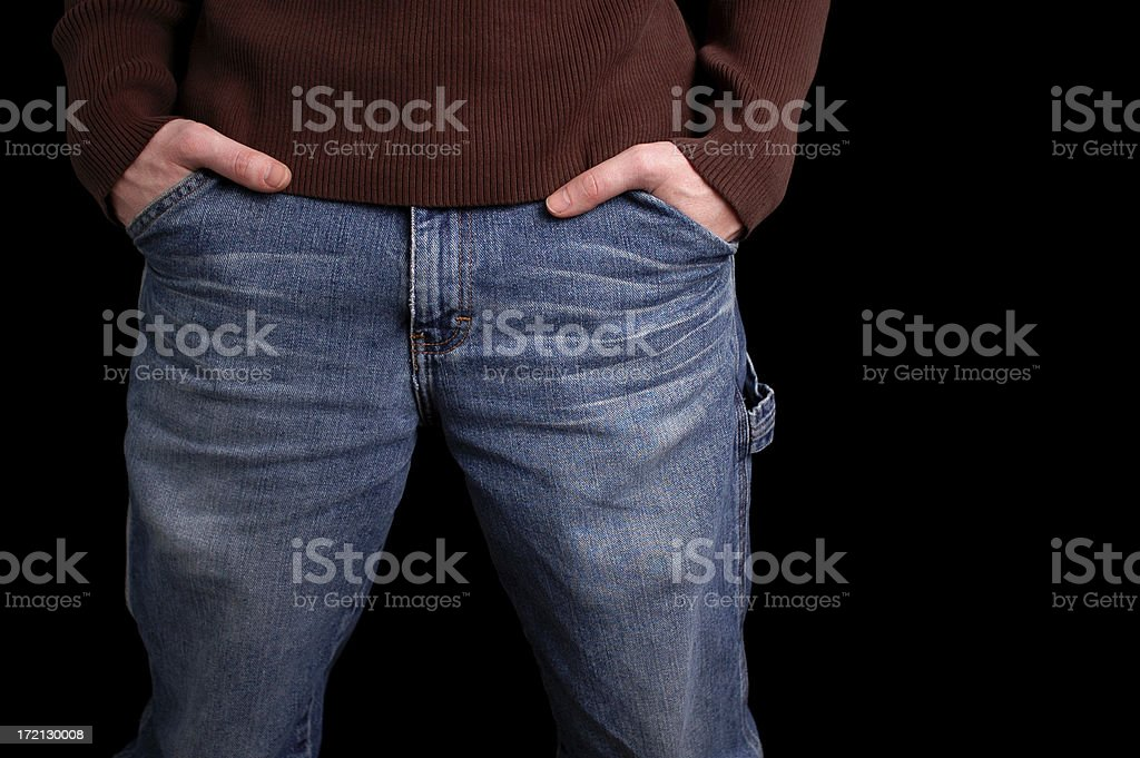 Guy Standing stock photo