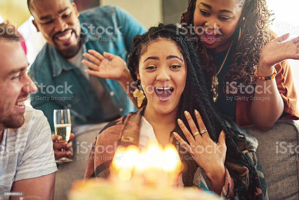 OMG, guys you shouldn't have... stock photo