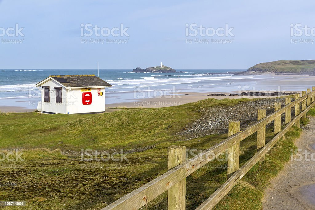 Gwithian Cornwall stock photo
