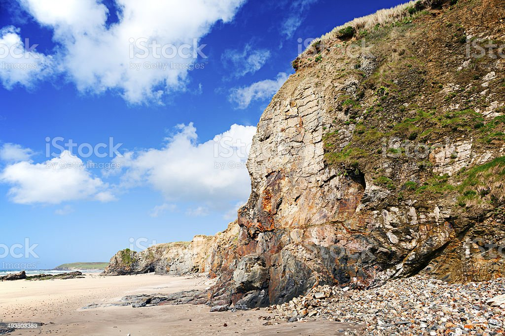Gwithian Towans North Cornwall England stock photo