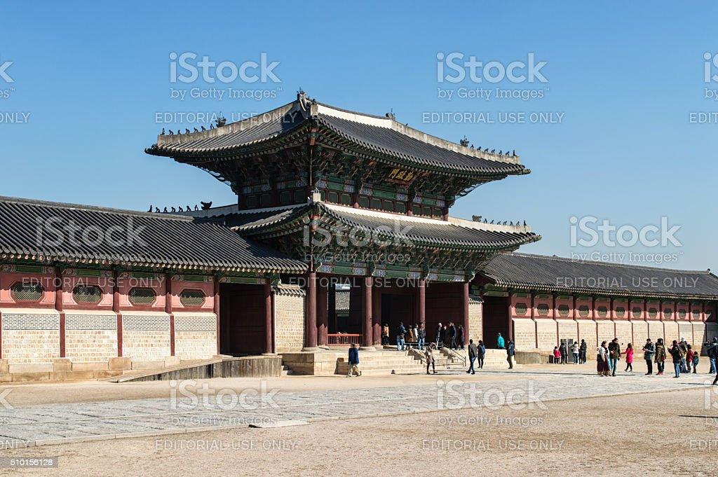 Gyeongbok Palace stock photo