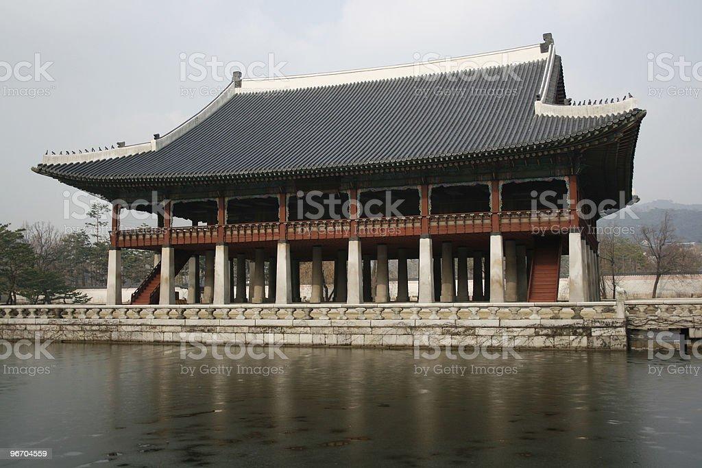 Gyeongbok Palace royalty-free stock photo