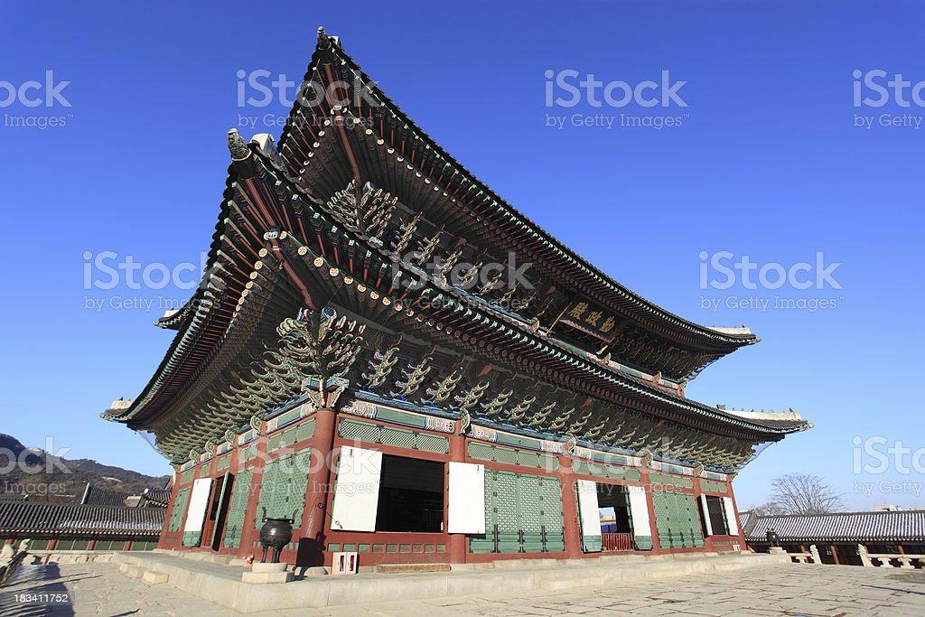 Gyeongbokgung palace royalty-free stock photo