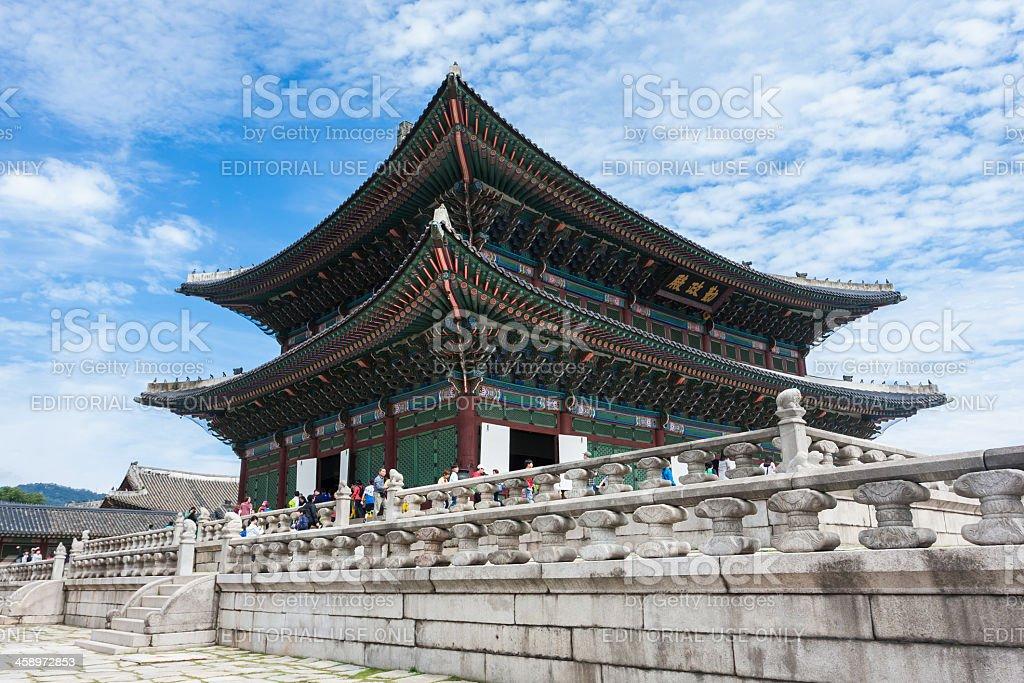 Gyeongbokgung Palace (Seoul) stock photo