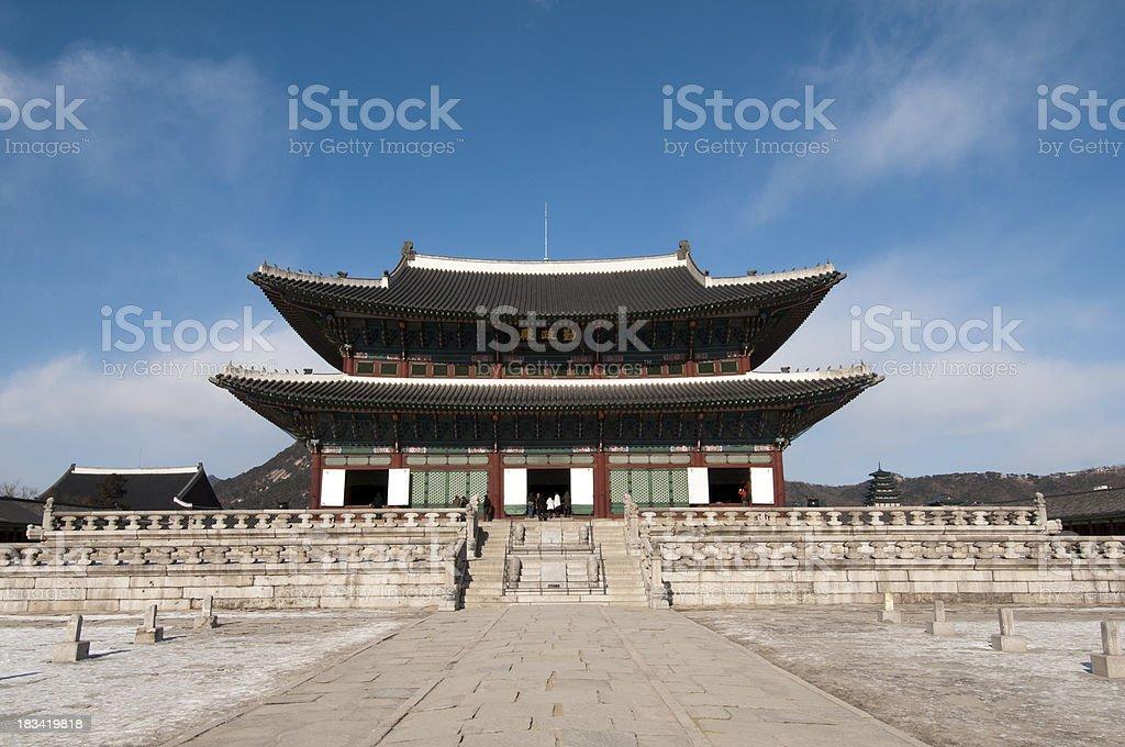 Gyeongbokgung Palace - Seoul stock photo
