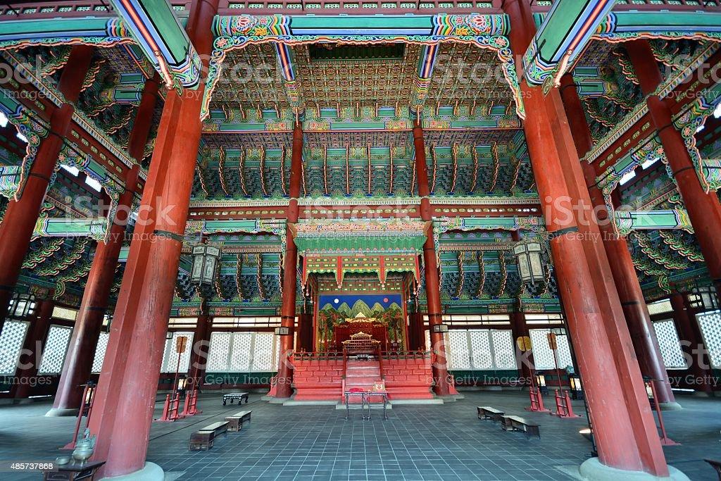Gyeongbokgung Palace, Seoul,Korea stock photo