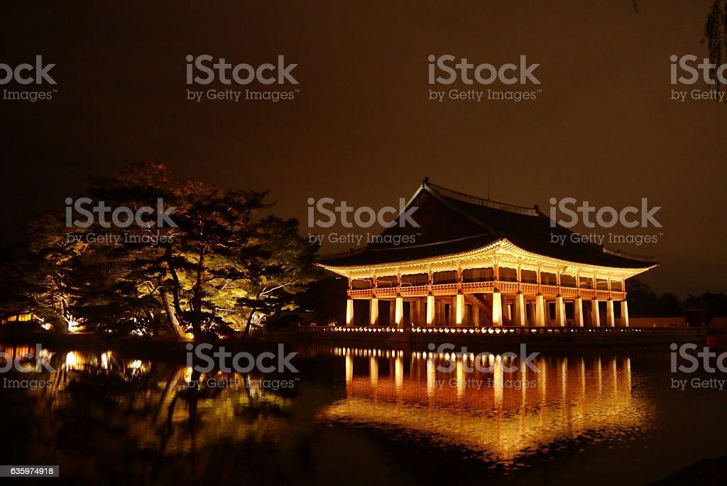 Gyeonghoeru stock photo