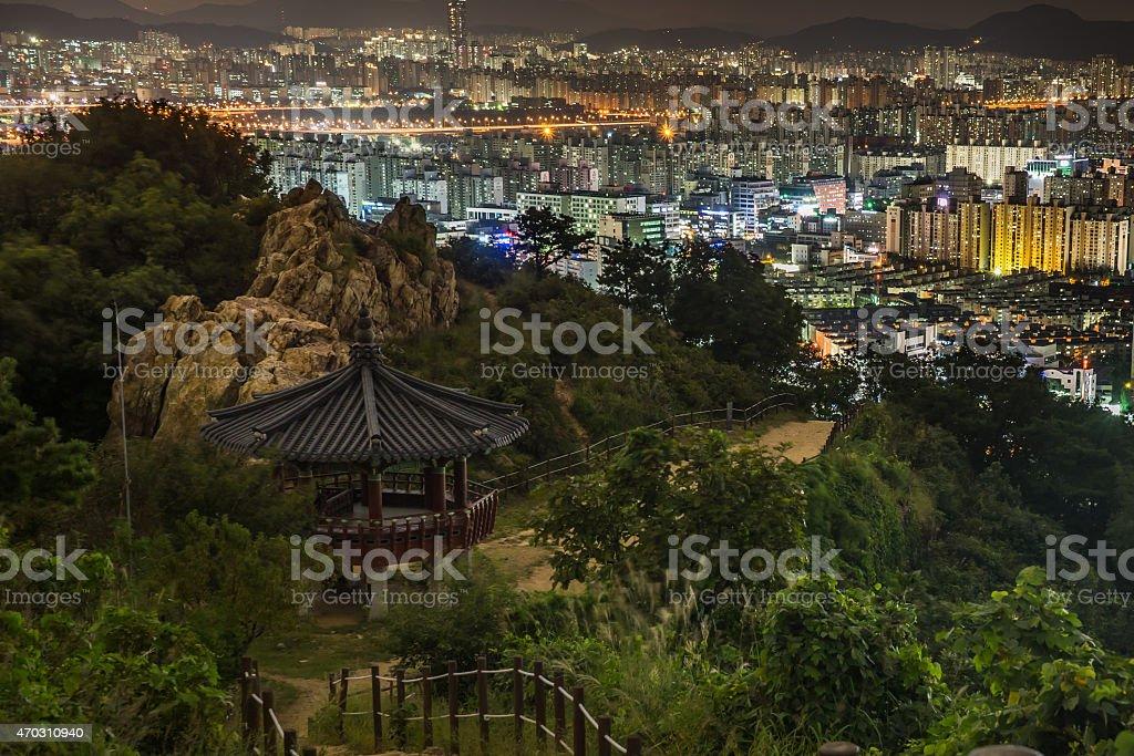 Gyeyang Mountain in Inchon korean stock photo