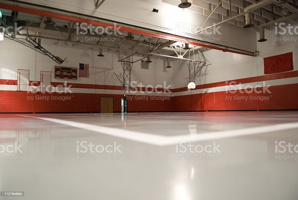 Gym - Back To School royalty-free stock photo