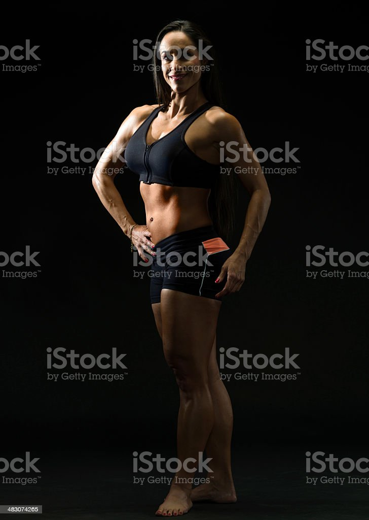 gym body royalty-free stock photo