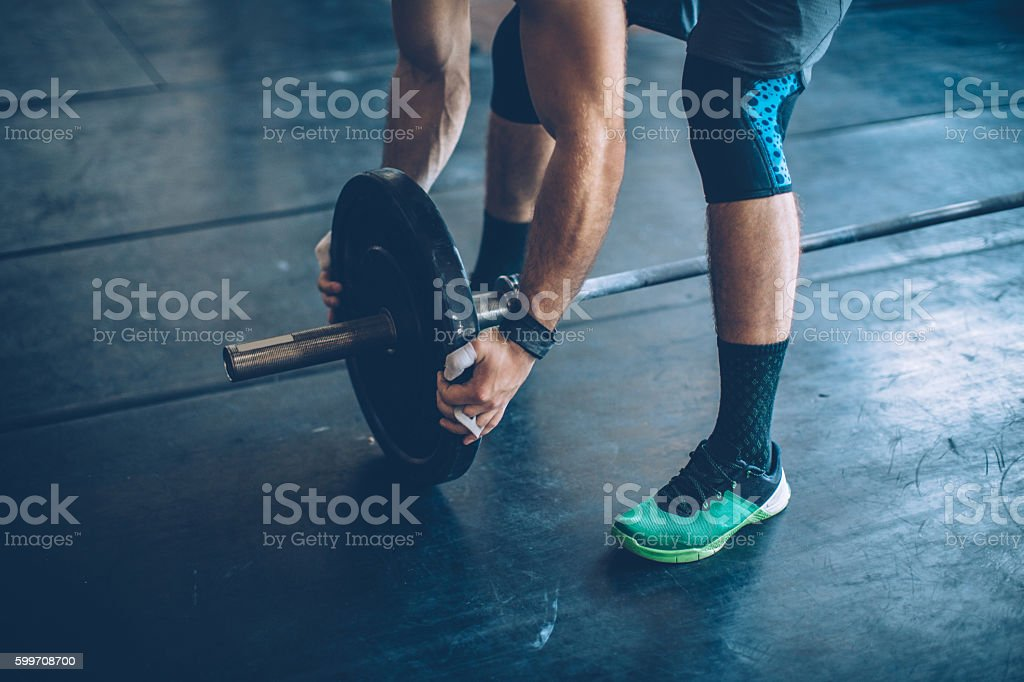 Gym day stock photo