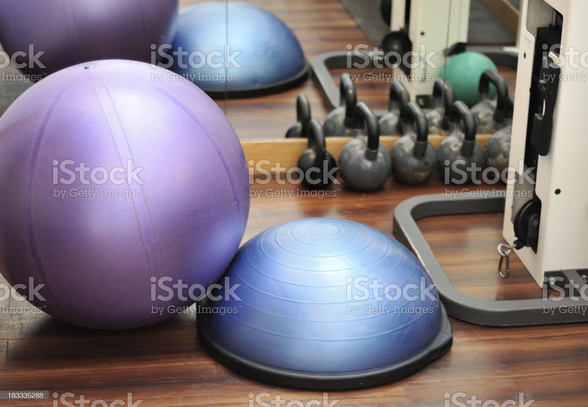 Gym Equipment royalty-free stock photo