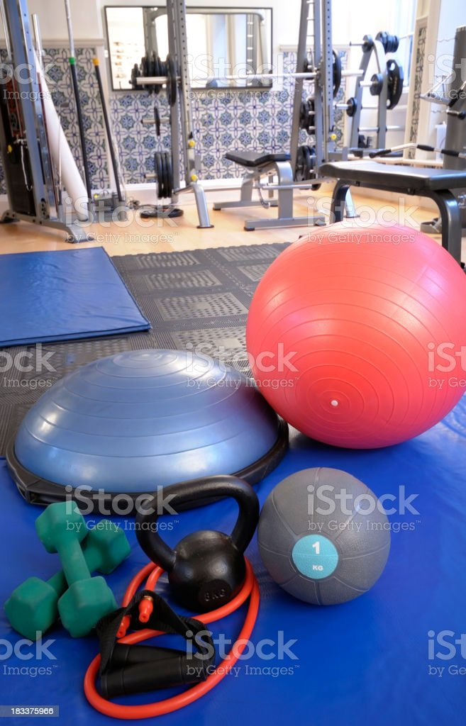 Gym Equipment royalty-free stock photo