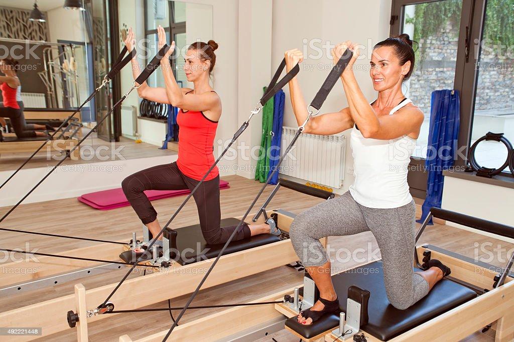 Gym for Pilates stock photo