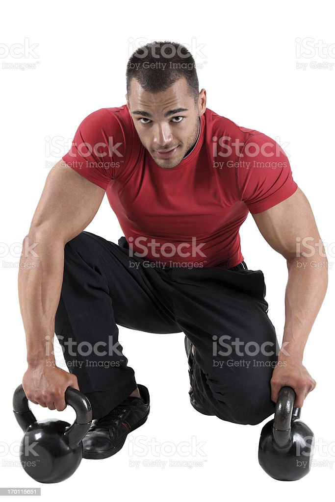 gym guy royalty-free stock photo