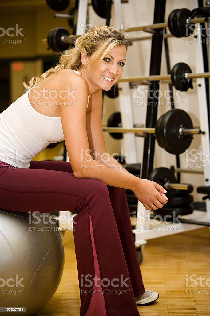Gym Life Style royalty-free stock photo