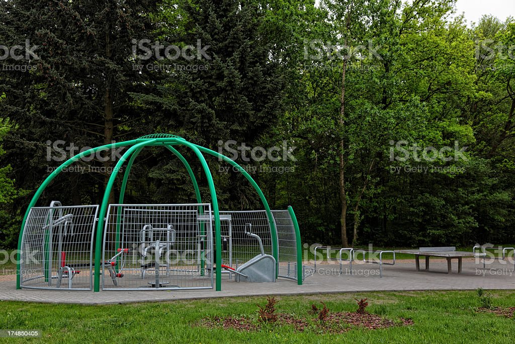 Gym Outdoor royalty-free stock photo