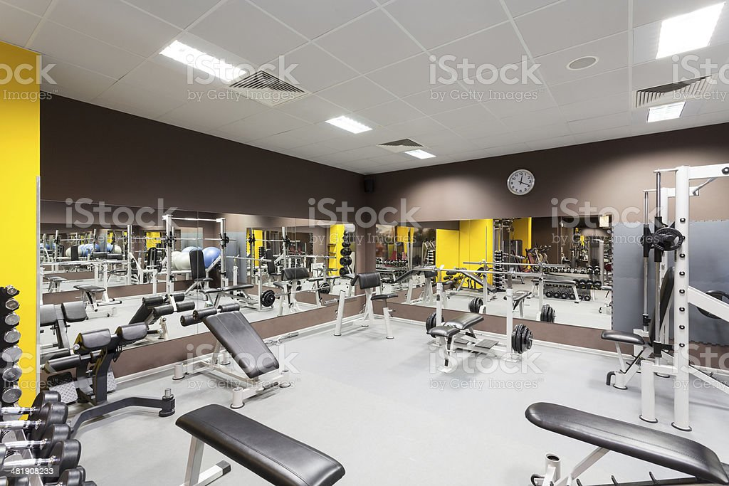 Gym stock photo