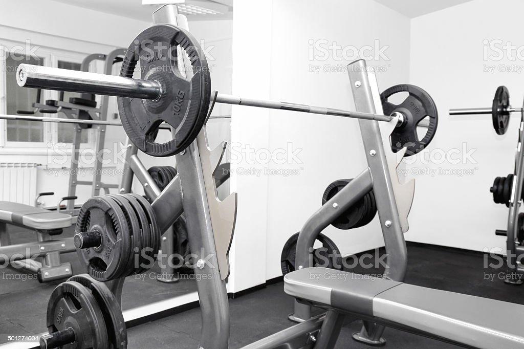 Gym stock photo