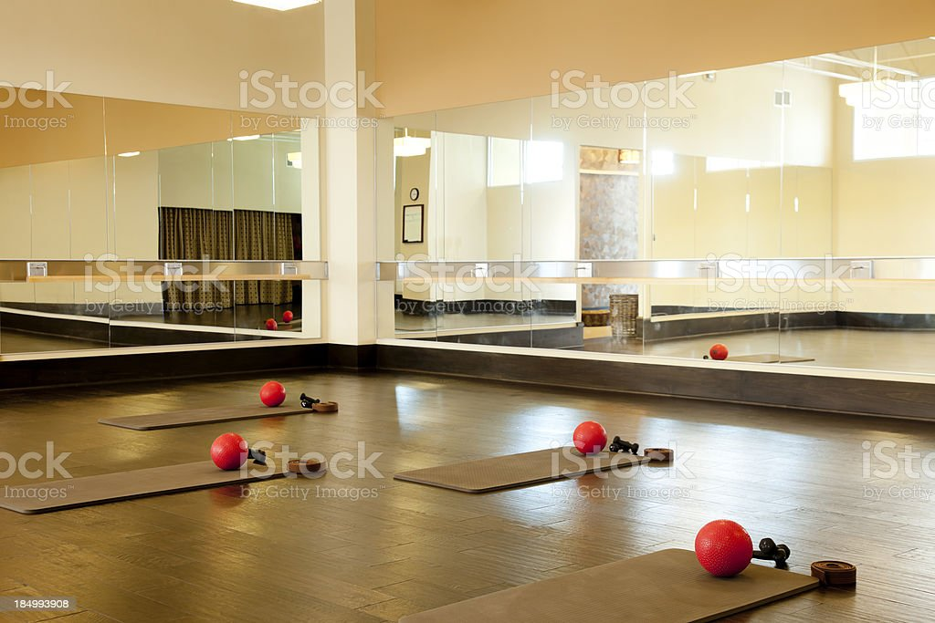 Gym Studio royalty-free stock photo