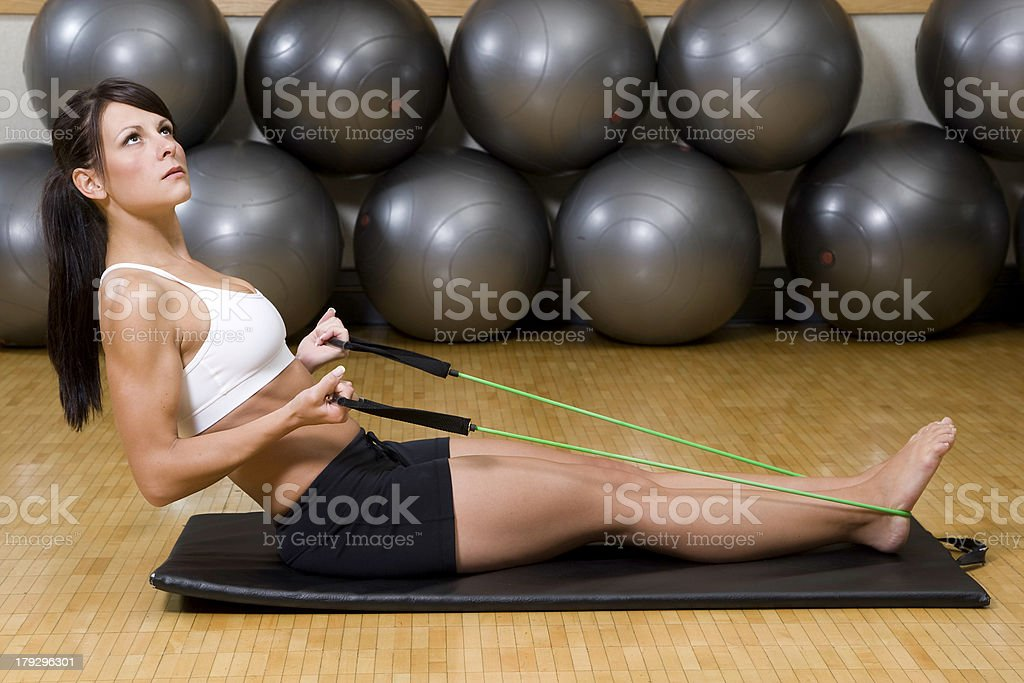 Gym Time - Fitness royalty-free stock photo