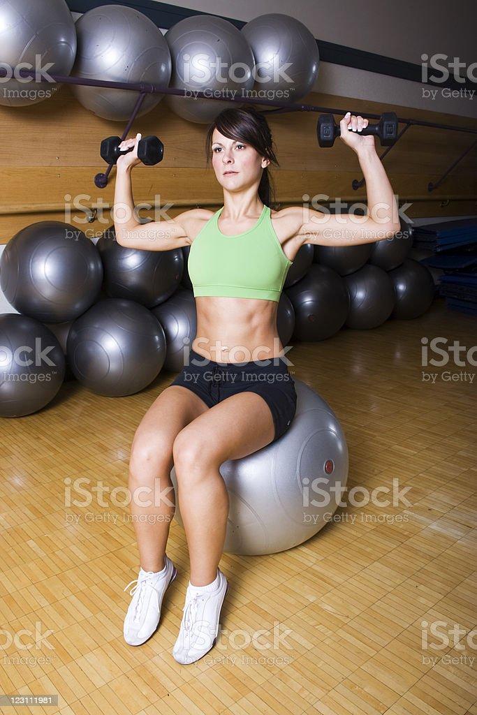 Gym Time royalty-free stock photo