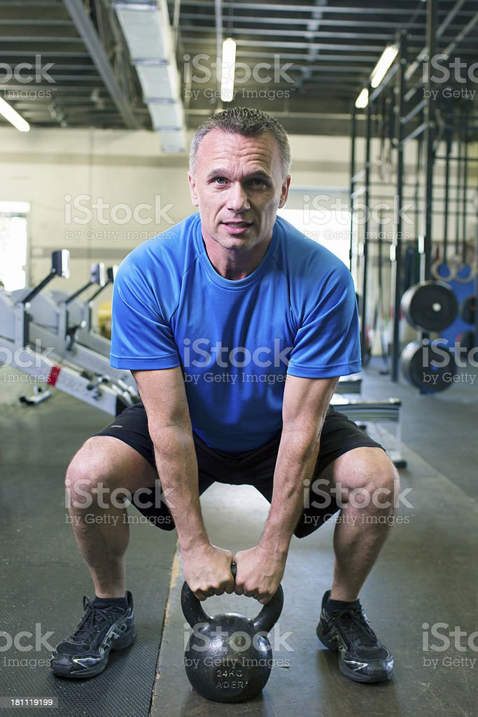 Crossfit weights royalty-free stock photo