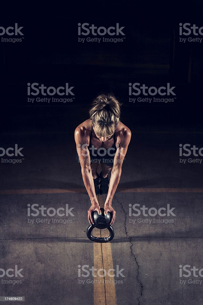 gym Woman stock photo