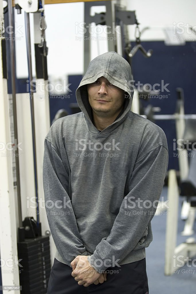 gym,fitness,after training royalty-free stock photo