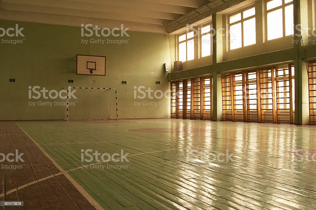 Gymnasium 2 stock photo