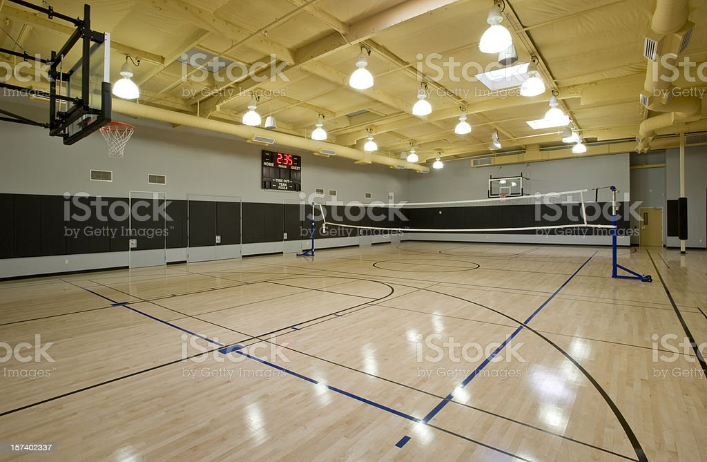 Gymnasium stock photo