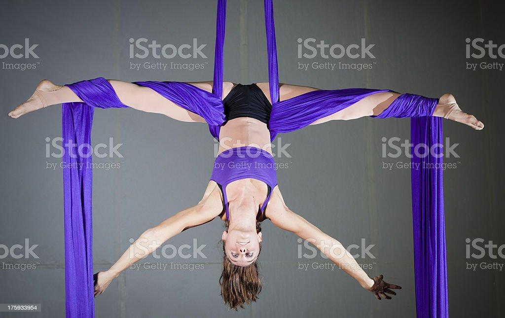 Gymnast stock photo