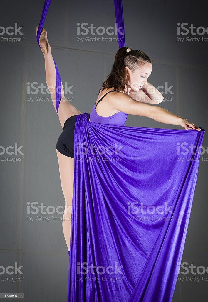 Gymnast royalty-free stock photo