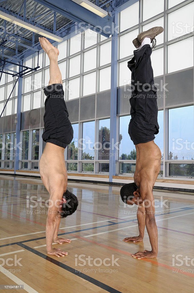 Gymnastic royalty-free stock photo