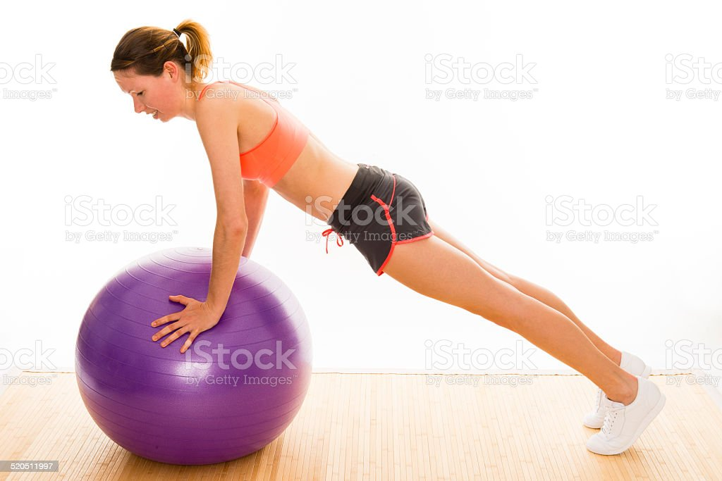 gymnastics stock photo
