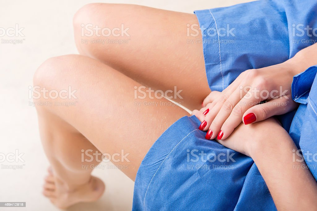 Gynecologist Office stock photo