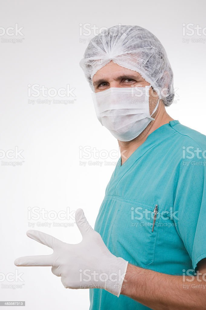 Gynecologist series royalty-free stock photo