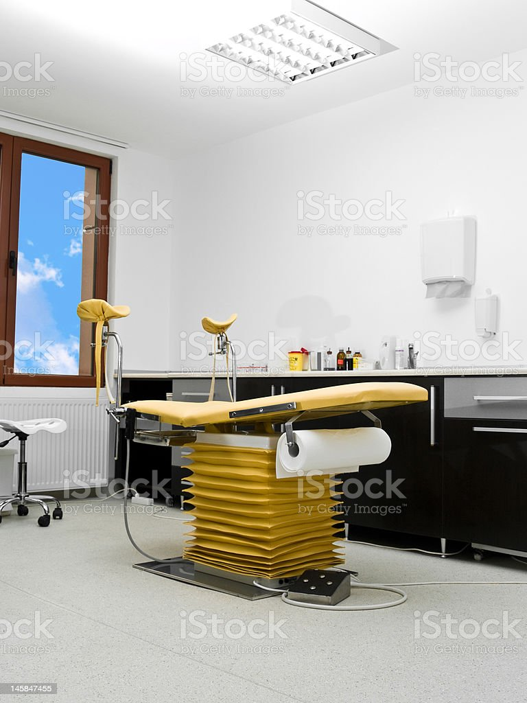 gynecology chair royalty-free stock photo