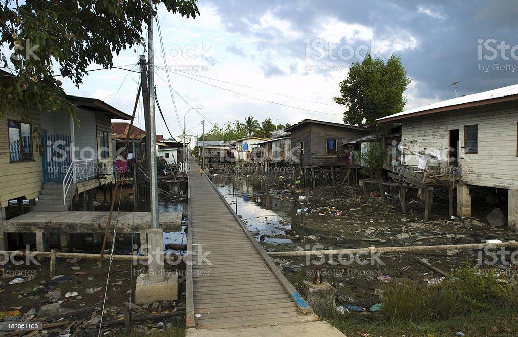 Gypsy Homes Borneo Kota Kinabalu royalty-free stock photo