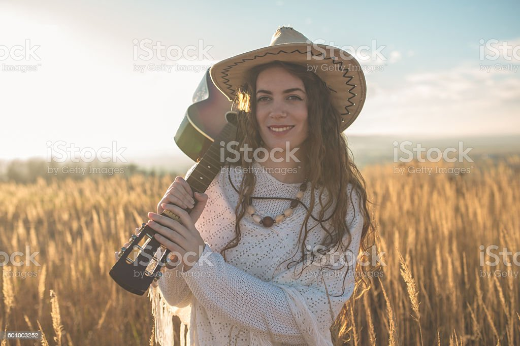 Gypsy lifestyle stock photo