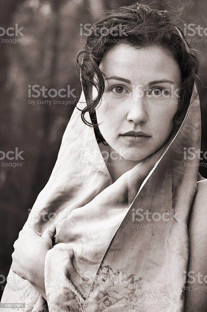 Gypsy royalty-free stock photo