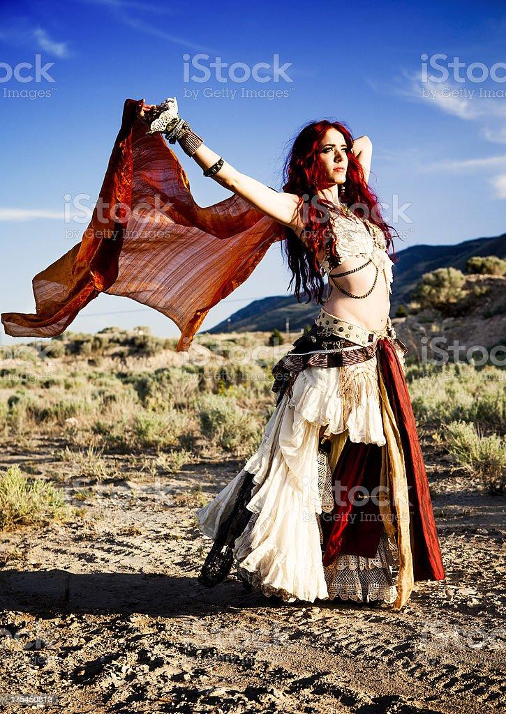Gypsy stock photo