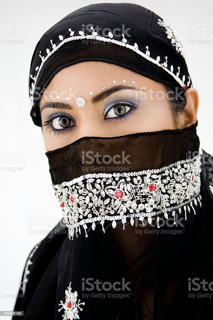 Gypsy woman stock photo