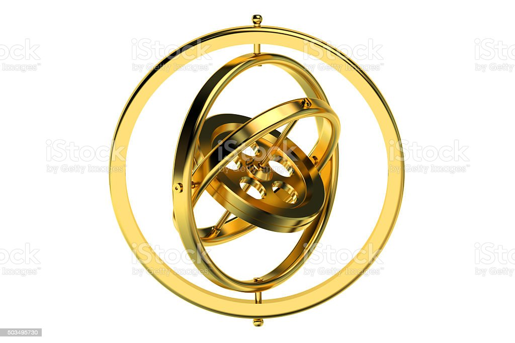 Gyroscope stock photo