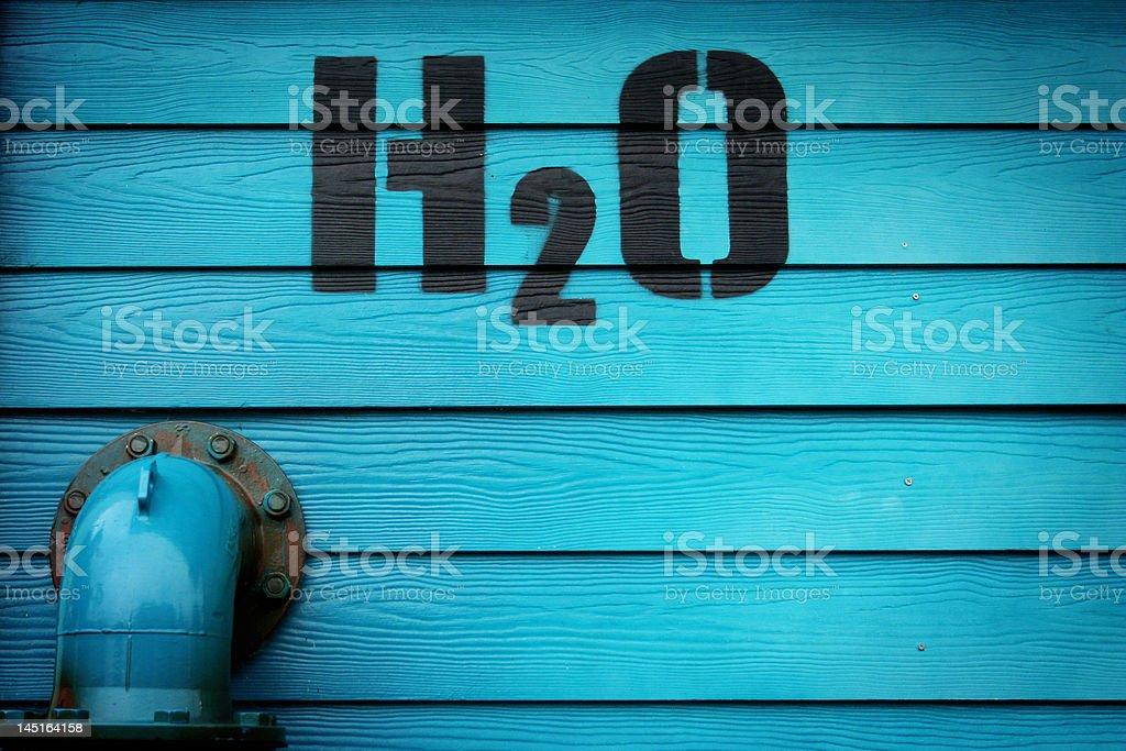 h20 royalty-free stock photo