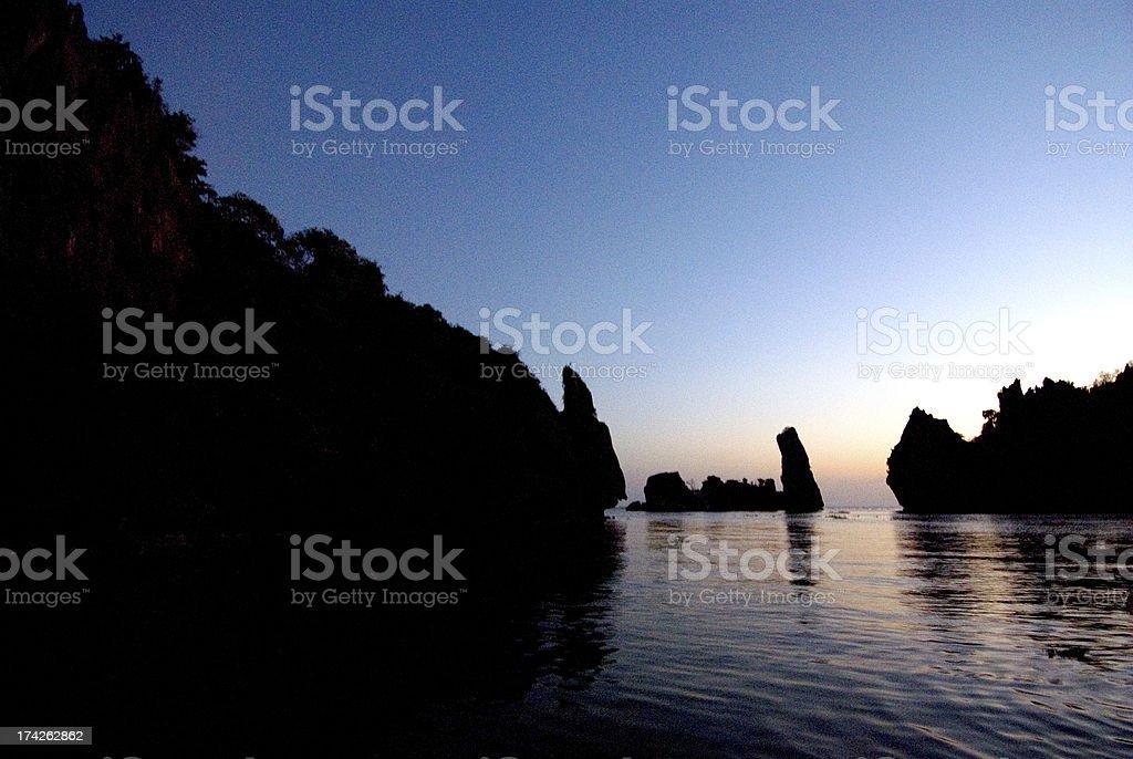 Ha Tien beach royalty-free stock photo