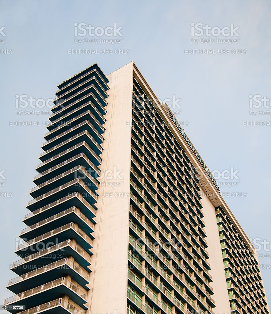 Habana Libre building in Cuba stock photo