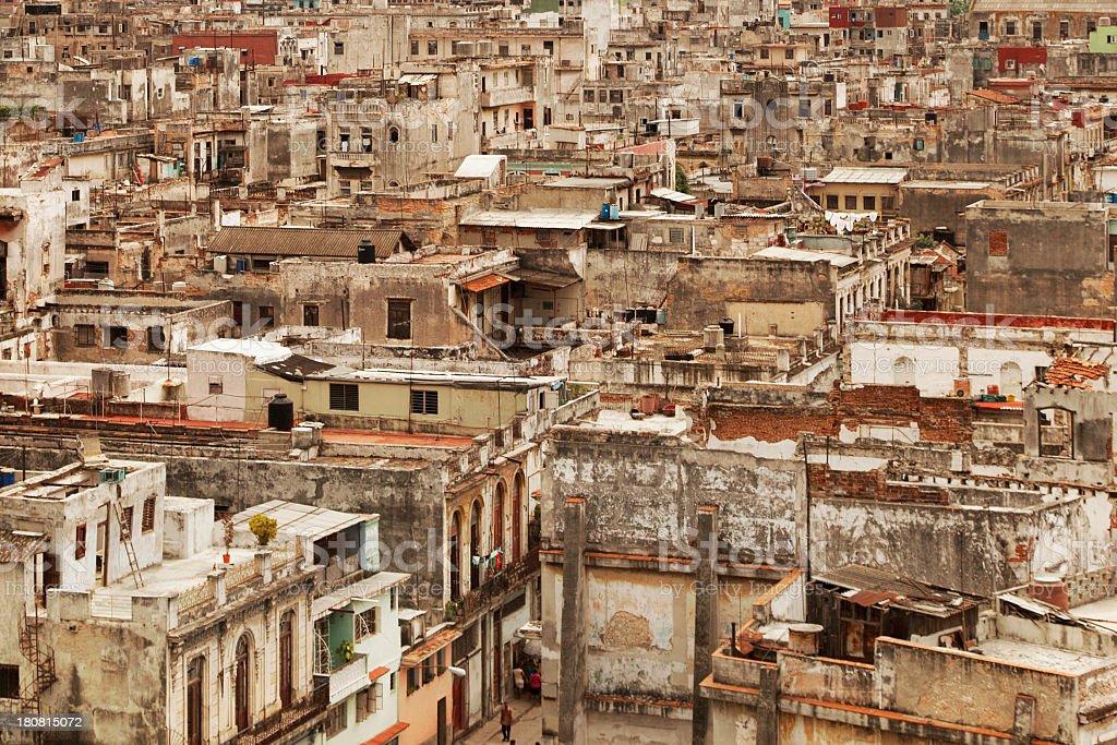 Habana Old City royalty-free stock photo