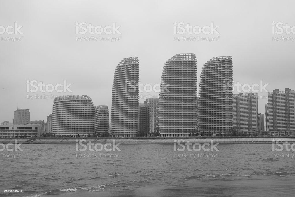 Habor City stock photo